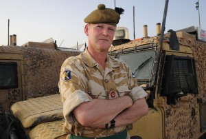 ANDREW MACKAY WHEN IN COMMAND OF TASK FORCE HELMAND
